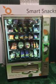 Fresh Fruit Vending Machines Delectable Fit Pick Machine Stocked With Fresh Fruits And Veggies Takes