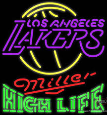 Neon Signs Los Angeles Mesmerizing High Life Neon Logo Los Angeles Lakers NBA Neon Sign NeonSigns USA INC