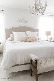 make a bedroom look bigger and brighter with light paint colors
