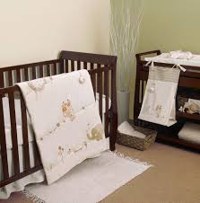 pers by nature s purest sleepy safari 5 piece organic baby crib bedding set with