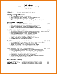 7 Resume Template For Warehouse Worker Budget Reporting