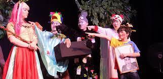 Sân khấu 5B làm kịch thiếu nhi   Sân khấu - Vietnam Discovery