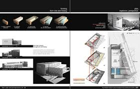 Superb Architectural Design Portfolio On Architecture Inside