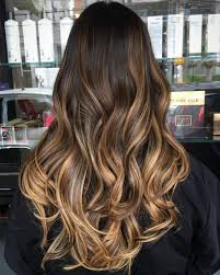 Light Caramel Ombre Hair 60 Hairstyles Featuring Dark Brown Hair With Highlights