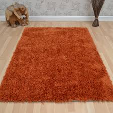 diva shaggy rugs in orange  free uk delivery  the rug seller