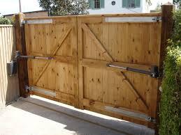 wood fence driveway gate.  Fence TheelectricopeningsystemfittedtolargesortwoodgatesinWorthingWestSussexjpg  1000750 And Wood Fence Driveway Gate Y