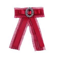 Галстук бабочка из полиэстера Для женщин для взрослых в ...