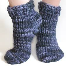 Sock Knitting Pattern Custom Free Super Bulky Sock Pattern ToeUpTop Down KnitFreedom