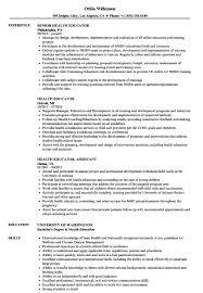 Sample Educator Resumes