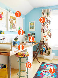 colorful home office. Get This Look - Colorful Shared Home Office And Homework Station 7 Tips From Remodelaholic