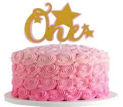 Jefferson Twinkle Twinkle Little Star 1st Birthday Gold One Cake