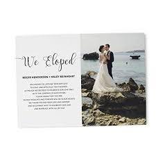 Announcement Cards Wedding