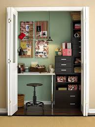 office in a closet. Closet Ideas For Better Organization Office In A R