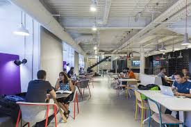 google tel aviv campus. collaborative area google tel aviv campus