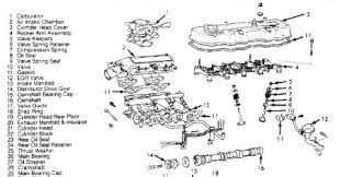 toyota pickup head gasket engine mechanical problem  here is an exploded view if the engine