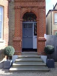 front door stepsYorkstoen steps bullnosed installed by English City Stone