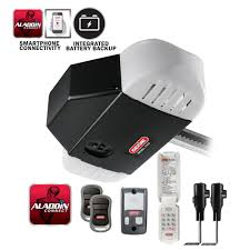 stealthdrive 1 1 4 hp belt drive garage door opener