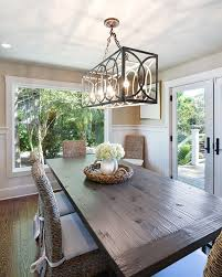 rectangular dining room light. Image Of: Rectangular Chandelier Dining Room Design Light U