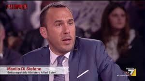 Di Stefano: 'Gentiloni ha fatto monologo''. Formigli: ''Lei ...