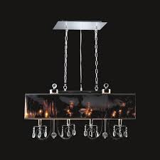 european style 4 lights crystal ball chrome finsh chandelier