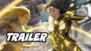 Wonder Woman 1984 Trailer - Wonder Woman vs Cheetah Breakdown and Easter  Eggs - YouTube