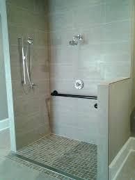decoration bathroom grab bars handicap bathtub bar placement