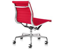 eames aluminum group management chair with no arms