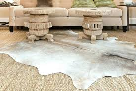 faux cowhide rugs faux cow skin rug cream and grey faux cowhide rug fake tiger skin