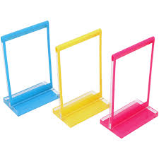 polaroid colorful mini frames with stands 3 pack
