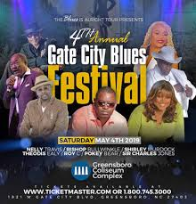White Oak Amphitheater Greensboro Nc Seating Chart 4th Annual Gate City Blues Festival Tickets 4th May