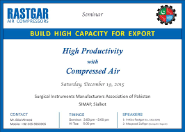 seminar invitation seminar invitation card design page 001 rastgar air compressors