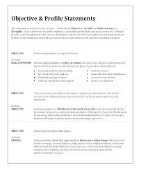 Objective Sample For Resumes Job Objective Examples For Resumes Rawdaljinan Com
