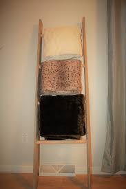 Diy Blanket Ladder Diy Blanket Ladder A House To Heal