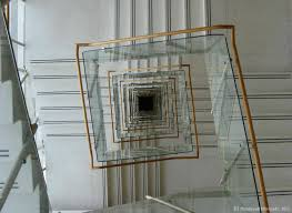 A square spiral staircase I discovered