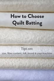 How to Choose Quilt Batting | Quilting projects, Sewing projects ... & How to Choose Quilt Batting Adamdwight.com