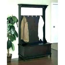 Coat Rack With Bench And Storage Stunning Hall Coat Rack Bench Entryway Storage Antique Hall Coat Rack Bench