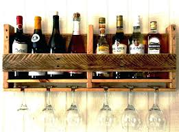 wine glass rack plans wooden holder wall mounted shelves with glasses stem uk moun