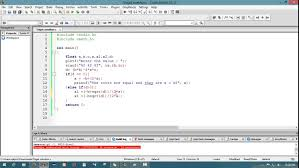 how to solve ax 2 bx c 0 in c programming