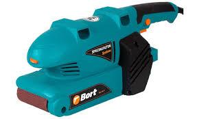 Ленточная <b>шлифовальная машина Bort BBS-800-T</b> (Цвет: Blue)