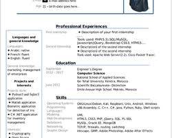 Resume Curriculum Vitae Cv Libreoffice Extensions And Templates