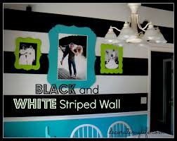 painting black and white stripes how to paint stripes
