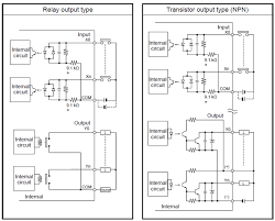 fp0r specifications automation controls industrial devices i o circuit diagrams