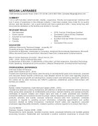 Day Care Experience On Resume Resume For Child Care Worker Orlandomoving Co