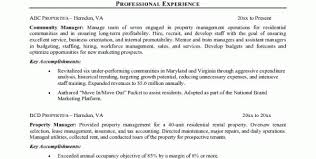 Assistant Property Manager Duties Resume Assistant Property Manager