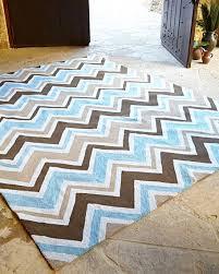 indoor outdoor chevron rug 7 6 x 9 6