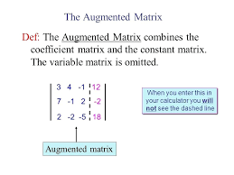 augmented matrix calculator