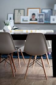 we are still designing our new table and trying to be mindful of future surrounding finishes while doing so in the meantime these chairs are doing a good