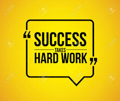 Quote Design Graphic Success Takes Hard Work Quote Illustration Design Graphic