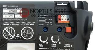 chamberlain liftmaster 915lm garage door monitor manual instructions