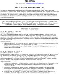 sample litigation paralegal resume